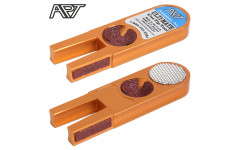 Инструмент для обработки наклейки Ulti-Mate Cue Tip Tool оранжевый