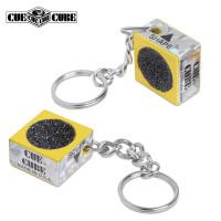 Брелок-инструмент для обработки наклейки Cue Cube желтый