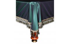 Покрывало Венеция 8фт шёлк зеленое