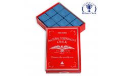 Мел National Tournament Chalk Blue 12шт