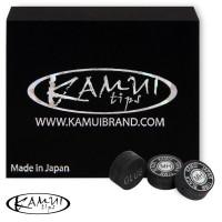 Наклейка для кия Kamui Snooker Black ø11мм Medium/Hard 1шт.