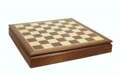 Шахматный ларец Стародворянский 45мм, махагон
