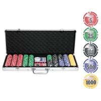 Набор для покера NUTS на 500 фишек