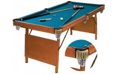 Бильярдный стол для пула Hobby 6фт