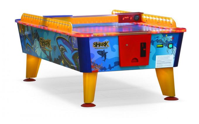 Всепогодный аэрохоккей «Shark» 6 ф (199 х 107 х 83 см, цветной, (жетоноприемник)