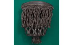 Комплект луз пул (57 мм, махагон, кожа, бахрома)